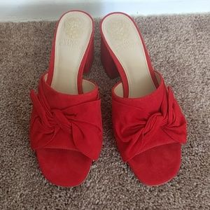 Never Worn Vince Camuto Sharrey in Red Hot Rio